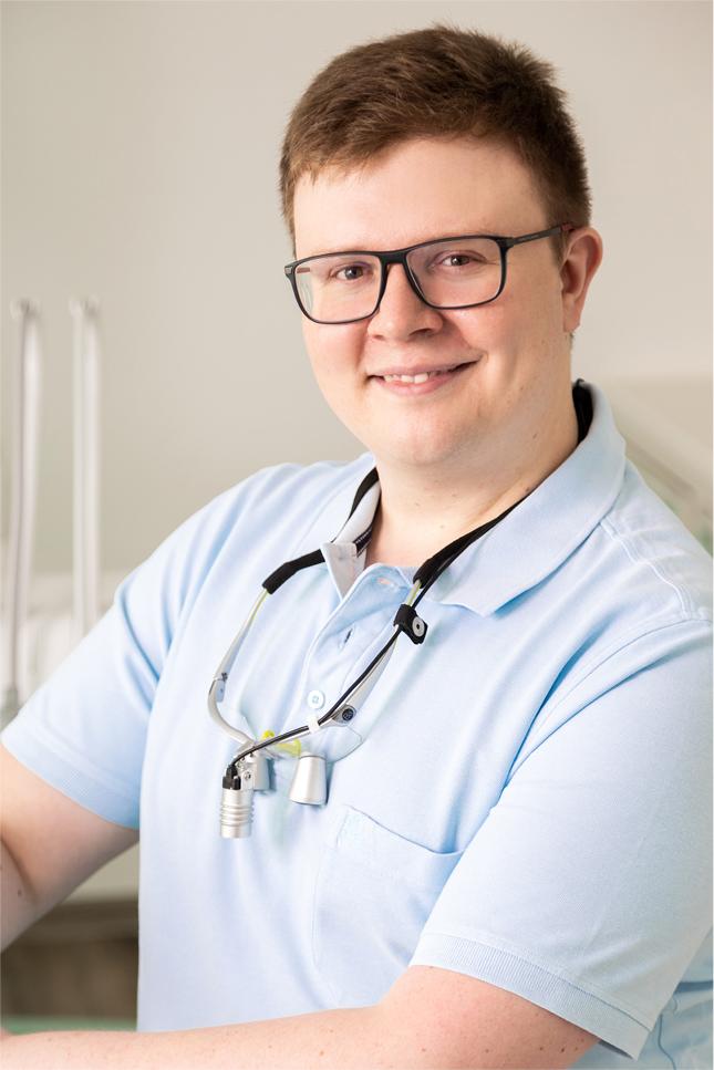Zahnarzt Alexander Hofmann